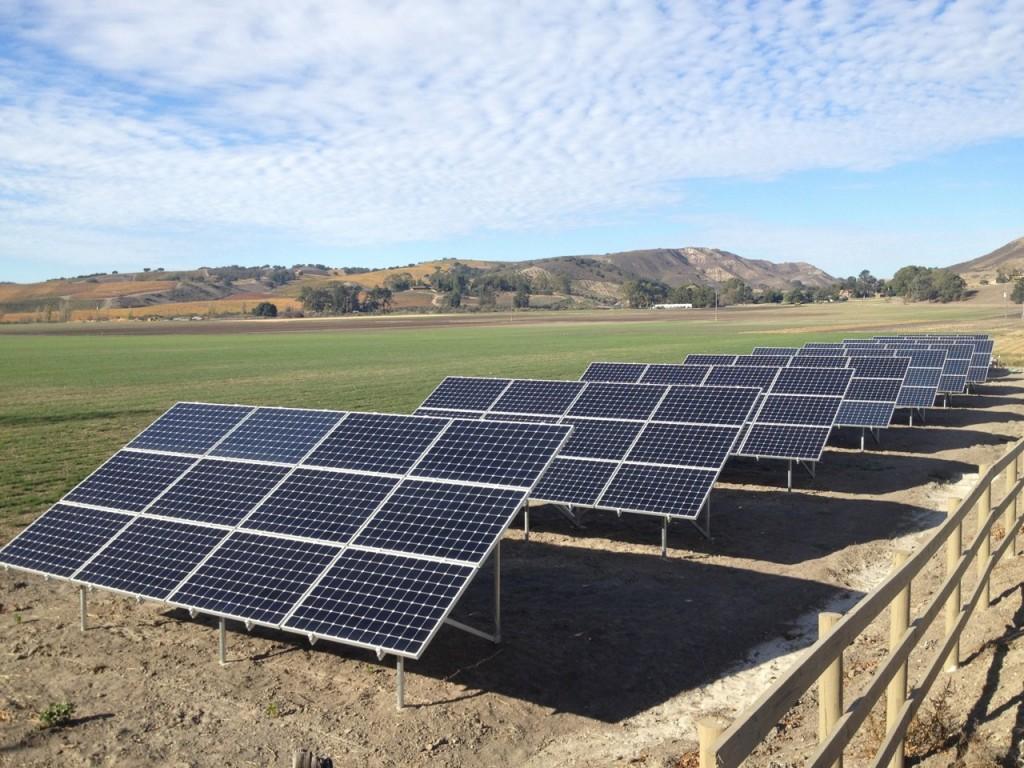 Commercial SunPower solar panels