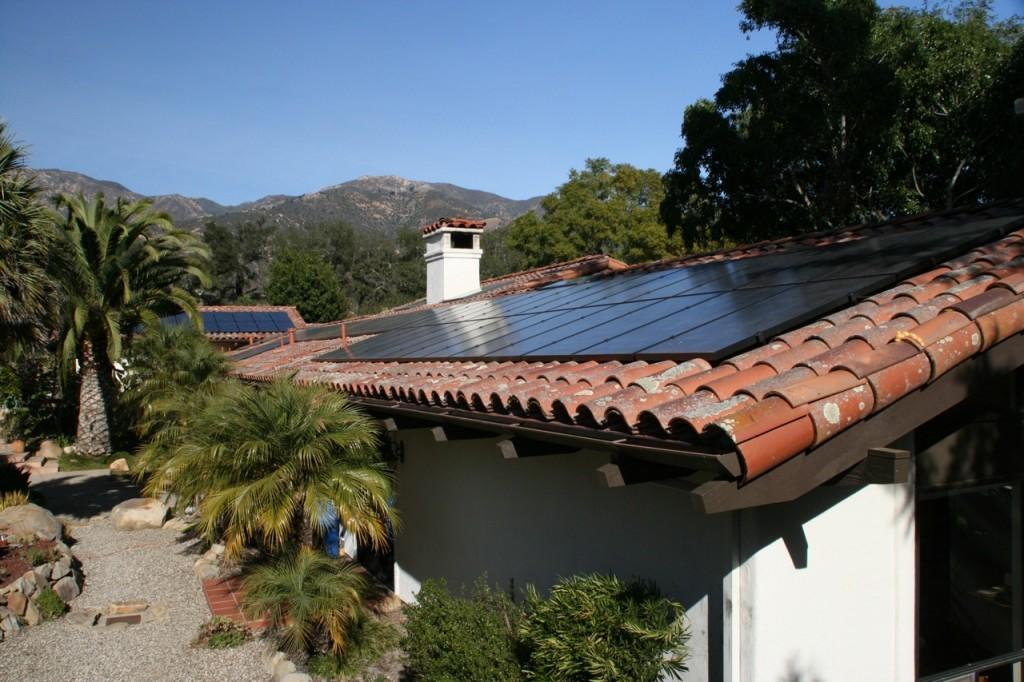 All black SunPower Solar panels