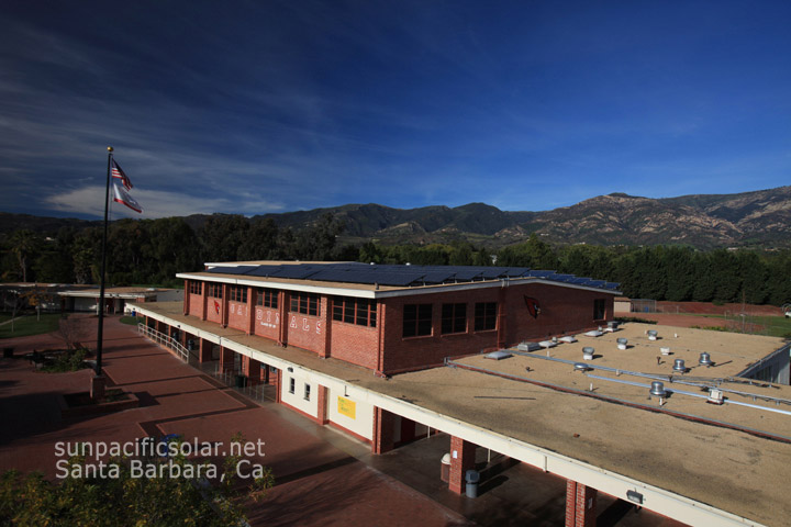Bishop Diego High School 76.2kW providing over 70% of the school's electric usage.