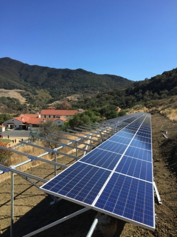 Sun Pacific Solar array at a local high school in Southern California. Local solar electrical contractors. Commercial, residential, agricultural. Solar Energy, Solar Power, Solar Panels, Solar Electric, Photovoltaic, Renewable Energy, Clean Energy, Green Energy, Solar Installation, Sustainable Energy, Sustainability, Alternative Energy, Energy, Energy Management, Energy Conservation, Solar PV, Sustainable Development, Solar Thermal, Energy Efficiency, Wind, Green Building, Clean Technology, Clean Tech, Energy Audits, Cleantech, Custom installations, comp roof solar installations, tile roof solar installations, flat roof solar installations, flat membrane roof solar installations, solar panel installations, standing seam metal roof solar installations, inverters, battery backup, pole mount solar installations, well pumps, ground mount solar installations, grid-tied solar, off-grid solar, grid tied solar, off grid solar, agricultural pumping, Hollister Ranch, Pismo Beach Santa Barbara, Ojai, Hope Ranch, San Luis Obispo, Ventura, Santa Ynez, Gaviota, Goleta, Montecito, Santa Barbara County, Tri-County area, Tri-County, Southern California, Carpinteria, Summerland, Buellton, Padaro Lane, Santa Maria, Lompoc