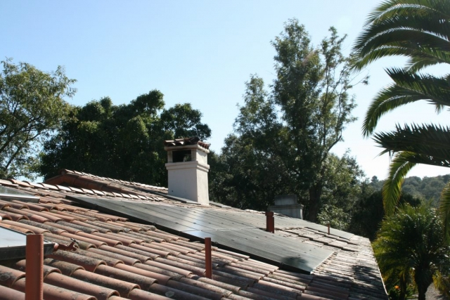 Sun Pacific Solar Electric installation in Montecito, California. Local solar electric contractors. Commercial, agricultural, residential. Solar Energy, Solar Power, Solar Panels, Solar Electric, Photovoltaic, Renewable Energy, Clean Energy, Green Energy, Solar Installation, Sustainable Energy, Sustainability, Alternative Energy, Energy, Energy Management, Energy Conservation, Solar PV, Sustainable Development, Solar Thermal, Energy Efficiency, Wind, Green Building, Clean Technology, Clean Tech, Energy Audits, Cleantech, Custom installations, comp roof solar installations, tile roof solar installations, flat roof solar installations, flat membrane roof solar installations, solar panel installations, standing seam metal roof solar installations, inverters, battery backup, pole mount solar installations, well pumps, ground mount solar installations, grid-tied solar, off-grid solar, grid tied solar, off grid solar, agricultural pumping, Hollister Ranch, Pismo Beach Santa Barbara, Ojai, Hope Ranch, San Luis Obispo, Ventura, Santa Ynez, Gaviota, Goleta, Montecito, Santa Barbara County, Tri-County area, Tri-County, Southern California, Carpinteria, Summerland, Buellton, Padaro Lane, Santa Maria, Lompoc