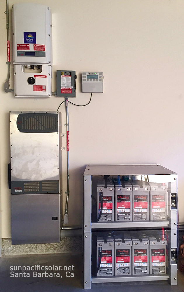 8kW AC residential battery backup system with 8.3kWh's battery storage.