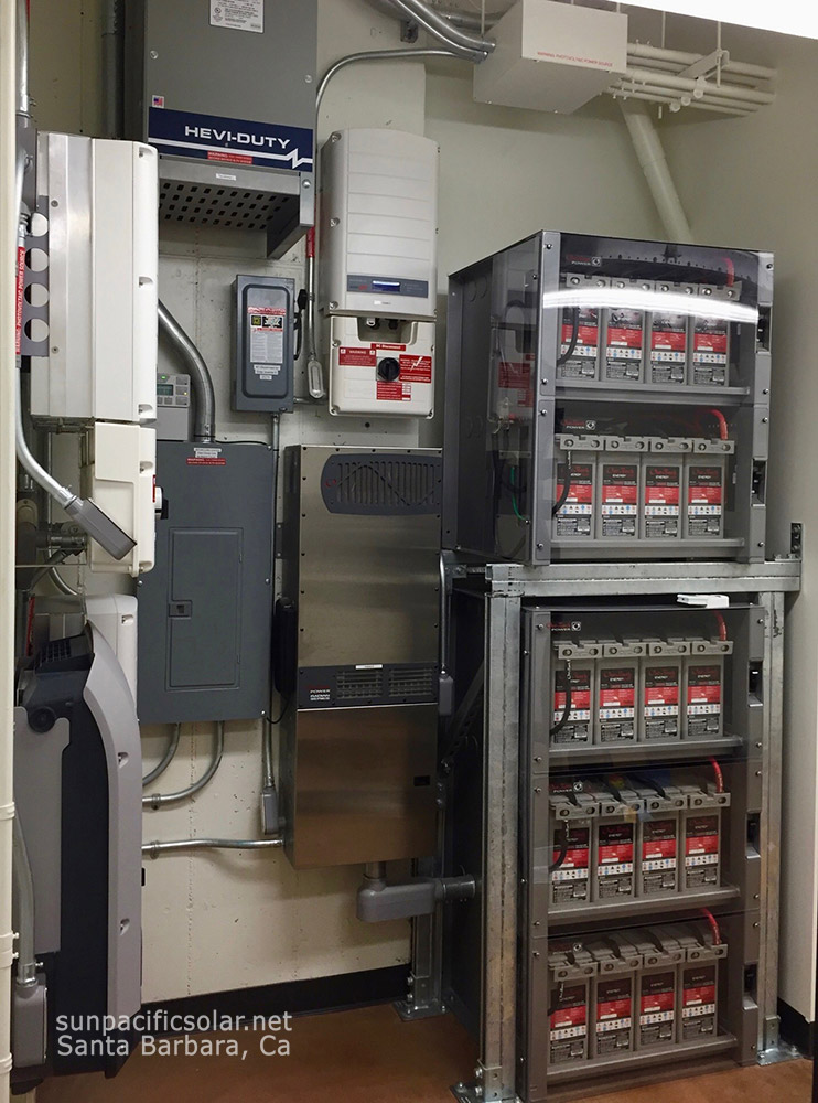 8kW AC commercial freezer battery backup system with 20.8kWh's battery storage.