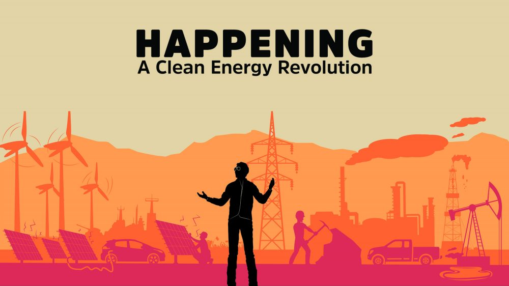 HBO documentary Happening: A Clean Energy Revolution poster