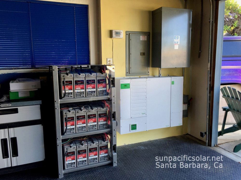 A whole house residential battery backup system qualifying for SGIP.